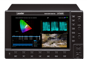 Leader test instruments used in UEFA Europa League final OB