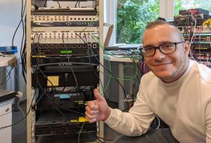Logic media solutions integrates Leader LT4611 into IP demo system