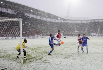 Snow scuppers first Dutch 3D football broadcast