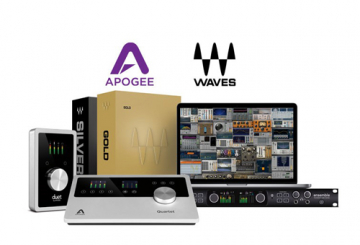 Apogee interfaces to include Waves plugin bundles