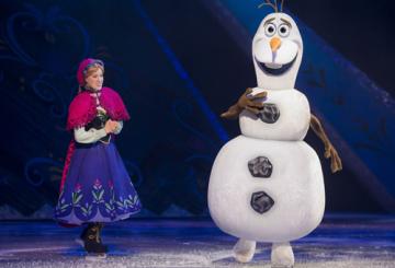 DWTC transforms for Disney on Ice