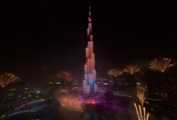 Dubai ushers in 2015 with style
