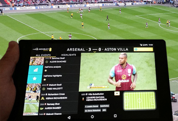 EVS and EE enrich fan experience at FA Cup final