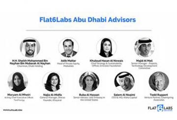 Flat6Labs Abu Dhabi announces new advisory board