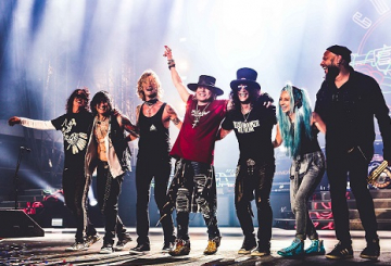Guns N' Roses to make Dubai debut in March 2017