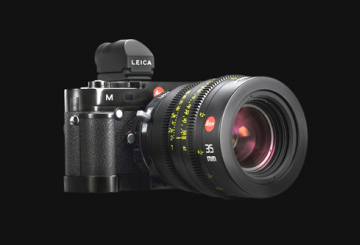 Leica mount on show at NAB