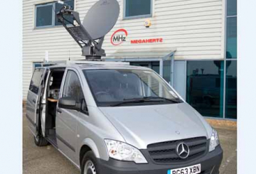 Megahertz to showcase newsgathering vehicle
