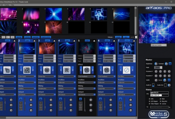 ArKaos Pro announces release of MediaMaster Pro5.0