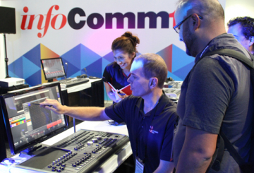 Mega Systems Inc. goes big at InfoComm
