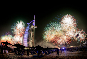IN PICS: Dubai sparkles for NYE 2016