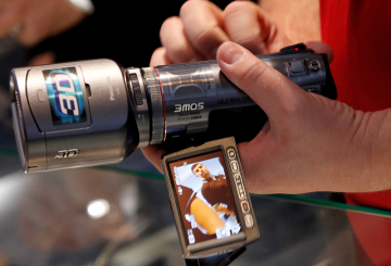 Panasonic launches world's first 3D camcorder