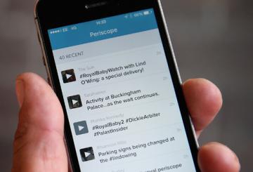 Periscope streaming app blocked in the UAE