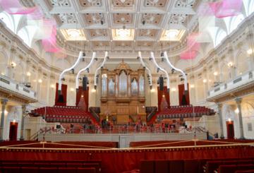 In Pics: High-tech rigging for neoclassic venue
