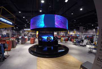 Sun & Sands Sports Mirdif gets curved LED