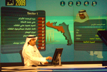 Arab broadcasters cover elections with Wasp3D