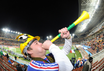 World Cup broadcasters take on the Vuvuzela