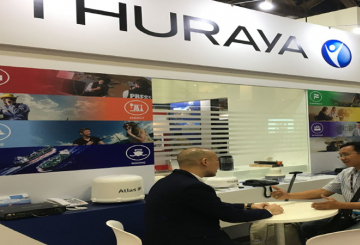 Thuraya unveiled Aero and WE at CommunicAsia 2017