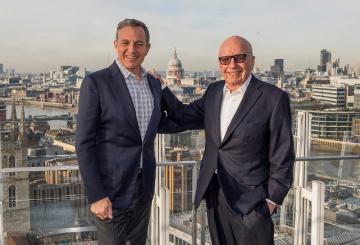Disney to Buy 21st Century Fox Assets for $52.4 Billion in Historic Media Merger