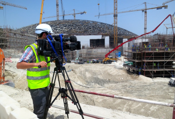 National Geographic Launches new Megastructures film featuring Louvre Abu Dhabi