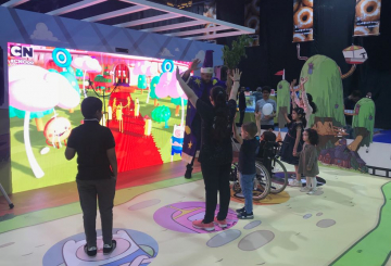 Turner Brings Cartoon Network Augmented Reality Experience to Saudi Youngsters