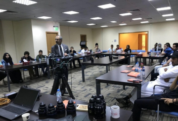 Sharjah Media City (Shams) holds Cinematography Workshop
