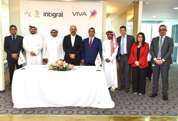 Intigral signs JawwyTV partnership deal with VIVA Kuwait