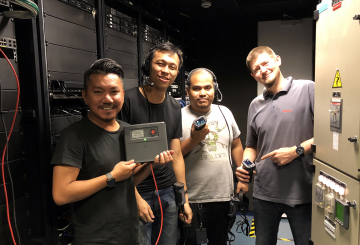 Riedel's Bolero intercom installed at renowned theater