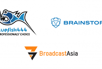 Brainstorm and Bluefish partner for Broadcast Asia showcase