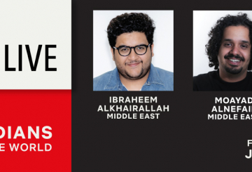 Four Arab comedians on board for Netflix series