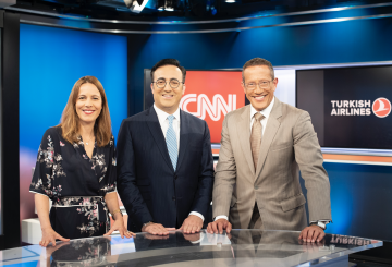 Turkish Airlines sponsors CNN's Richard Quest show