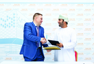 Lunar Cinema and Al Muzn Oman sign agreement for first laser projection cinema