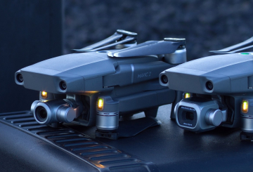 DJI introduces Mavic 2 advanced camera drones