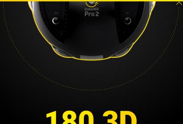 Insta360 Brings 180° 3D Capture to Pro Camera Series