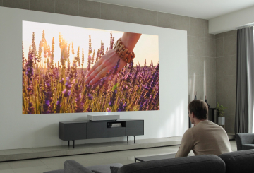 LG debuts new 4K laser projector at CES 2019