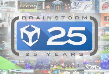 Brainstorm celebrates 25 years of creating the world's first virtual studio