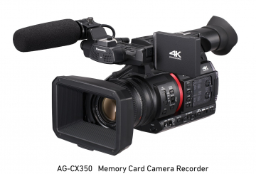 Panasonic launches 4K pro camcorder in Middle East