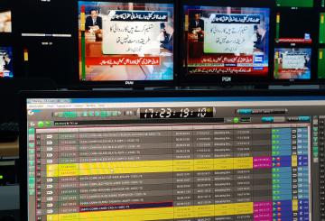 Pakistan's Dunya News upgrades to Pebble Beach's Marina playout system