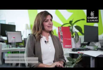 Flix on 86 at CABSAT 2019: Interview with Heba Korayem, mena.tv