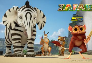Animated series ZAFARI premieres on Spacetoon