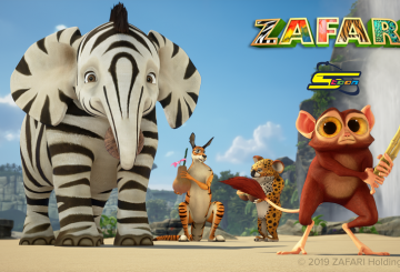 Animated series ZAFARI premieres on Spacetoon