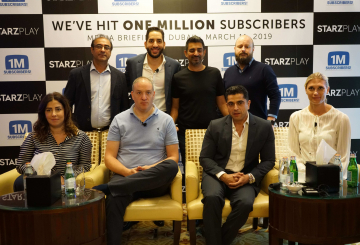 Starz Play crosses one million subs, announces expansion strategy