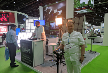 Senna brings advanced lighting and control products to CABSAT