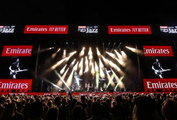 Robe lights up Dubai Jazz Festival