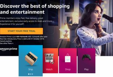 Amazon Prime launches in UAE
