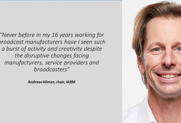There's a burst of activity despite challenges – Andreas Hilmer, IABM