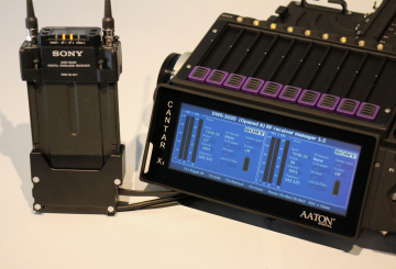 Aaton's Hydra to integrate with Sony's digital audio transmission system