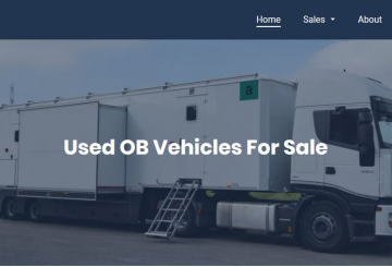 Broadcast Solutions enters used OB vehicles market