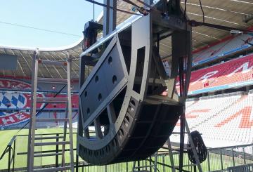 In pictures: Bayern Munich's Allianz Arena gets sound upgrades