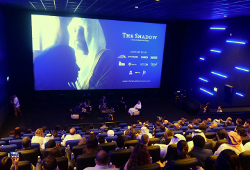 Nayla Al Khaja's The Shadow previews in Dubai