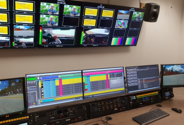 France TV installs Pebble Beach automation system